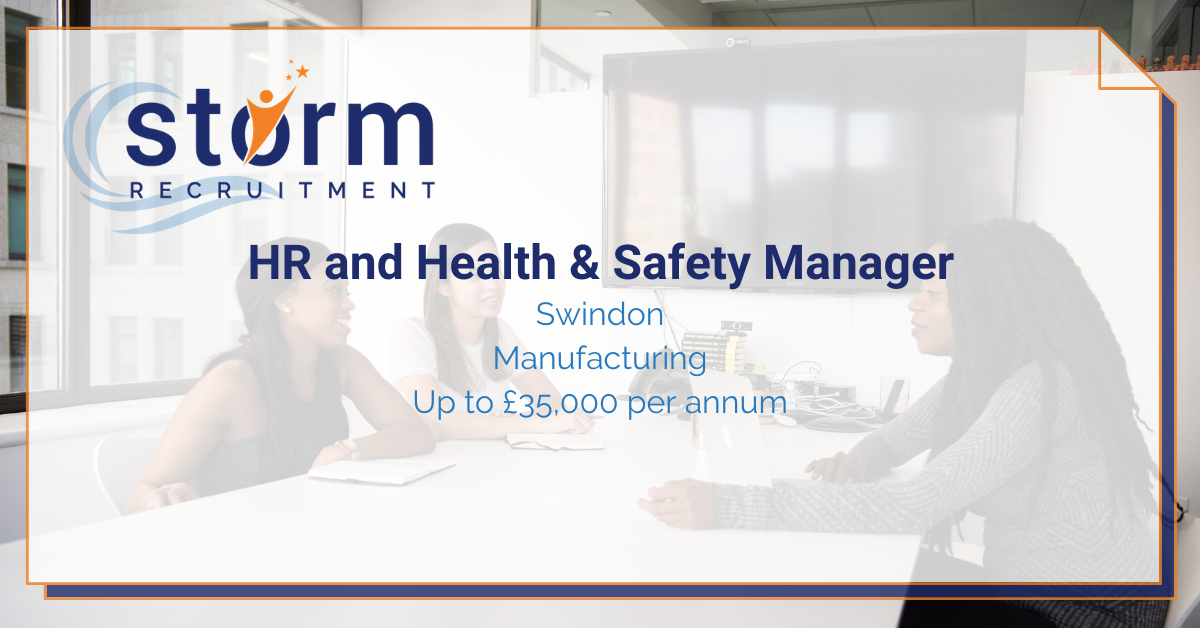 HR and Health and Safety Manager